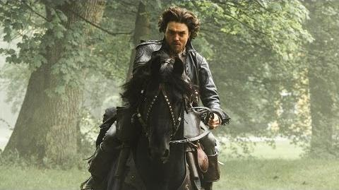 THE MUSKETEERS Learn Swordfighting & Horse-Riding at Boot Camp - New SUN 9 8c BBC AMERICA