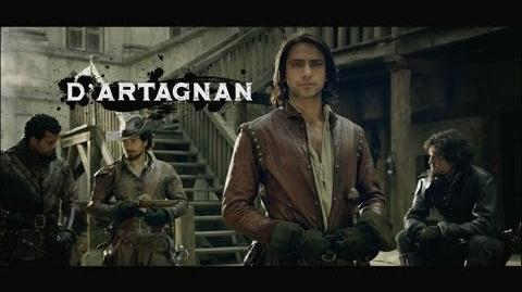 D'Artagnan Teaser Trailer - The Musketeers - BBC One