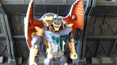 Beast Wars Cybershark - Transformers Review