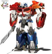 Beast Hunters Optimus Prime
