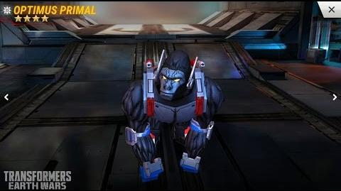 Transformers Earth Wars New Bot Optimus Primal First Look