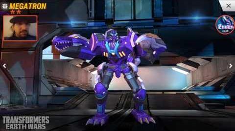 Transformers Earth Wars 2☆ BW Megatron