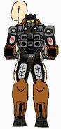 Diademed sifaka Maxitrooper
