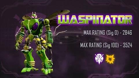 Transformers׃ Forged to Fight - Waspinator