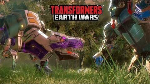 Transformers Earth Wars BEAST WARS Trailer