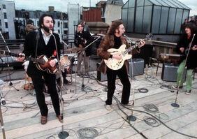 Beatlesapplecorpconcert