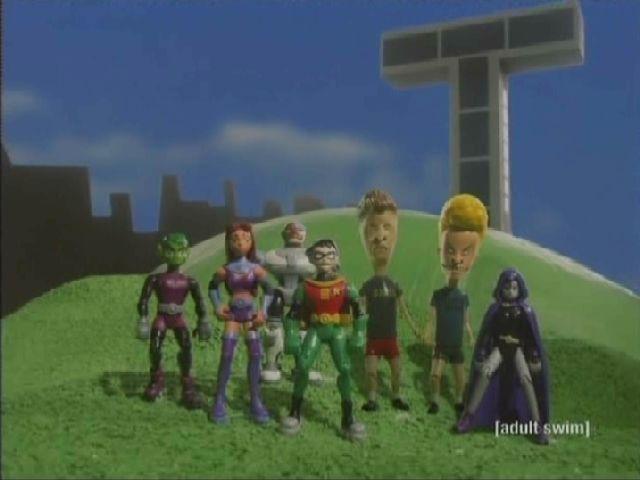 File:Beavis and Butt-head Join Teen Titans.jpg