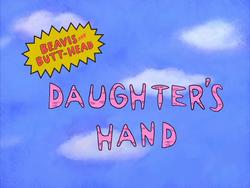 Daughter's Hand