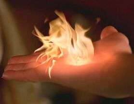 Claire watches pyrokinesis