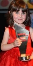 Amelia Flanagan Inside Soap Award