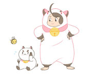 Tumblr puppycat suit