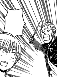 Furuichi About To Be Attacked