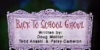 Back to School Ghoul