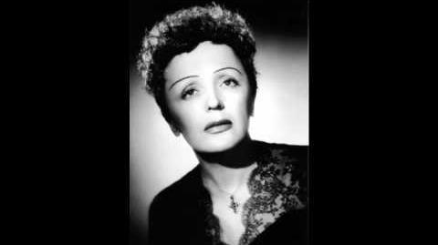 Edith Piaf ''La Vie En Rose'' .