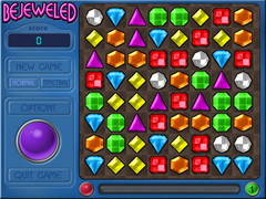 Bejeweled Normal Mode Level 1