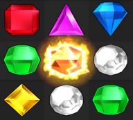 Bejeweled Twist Supernova Gem