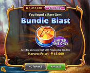 Bundle Blast harvest on the facebook version