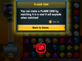 Bejeweled Twist Online Trial Flame Gem Intro