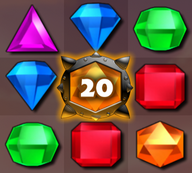 Bejeweled 3 Bomb Gem