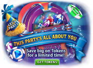 Party Time Token Special
