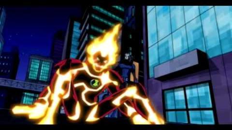 Ben 10 Omniverse - Heatblast Teen Ben