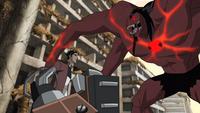 Alpha Four Arms vs. Rex.png
