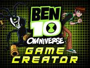 Ben 10 omniverse game creator