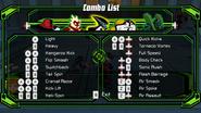 XLR8Combo list