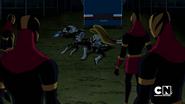 Soldados Diagon viendo a los Plomeros caidos...