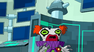 Driba is now a zombie clown