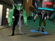 Diamondhead and Ben 10,000
