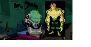 Eyeguy Wth Pakmore (When EyeGuy Is Faceing Vilgax)