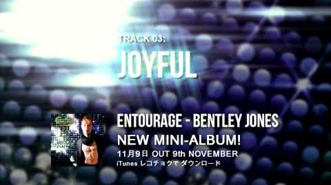 Entourage Mini-Album Sampler - Bentley Jones ベントレー・ジョーンズ