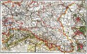 B1906 Karte Brandenburg
