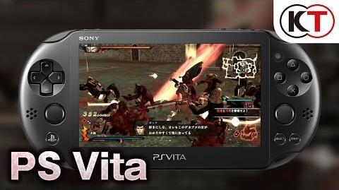 PS Vitaプレイムービー『ベルセルク無双』10 27発売