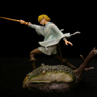 Statue of Serpico practicing swordplay released by <a rel=