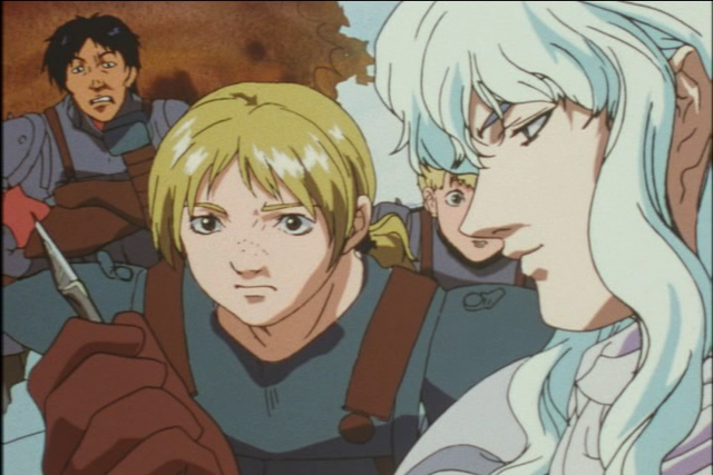File:Griffith Inspects a Deadly Arrow.png
