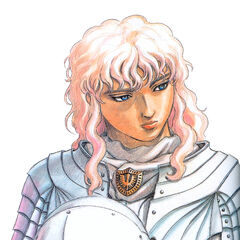 Griffith holds his helmet.