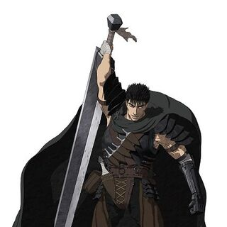 Guts' appearance for the Black Swordsman arc.