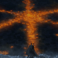 Guts witnesses the <a href=