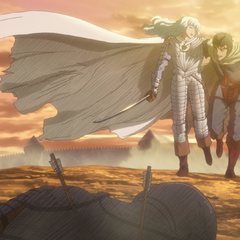 Guts remembers the camaraderie he had with Griffith.