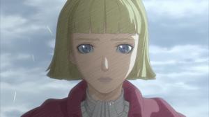 Farnese cuts her hair