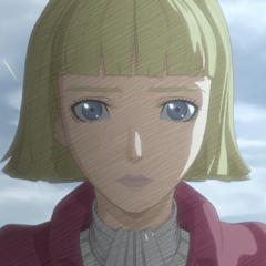 Farnese cuts her hair to atone for her actions against Guts and his allies.