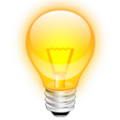 Bulb icon yellow 3d.png