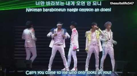 B1A4 - Bling Girl BABA B1A4 in Seoul (Hangul, Romanization, Eng Sub)