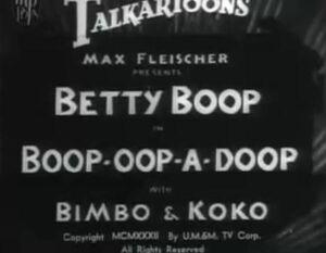 Boop oop a Doop 1932