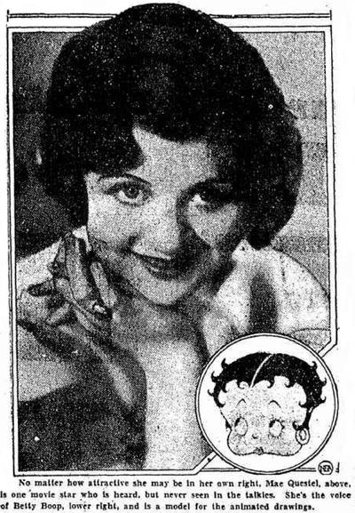 Ma EQuestel 1932 New Boop Voice