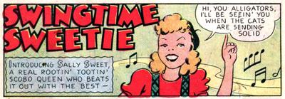 Sally Sweet 1939 Champion Comics