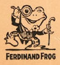 FERDINAND FROG BETTY BOOP