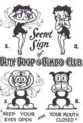 Betty Boop & Bimbo Club